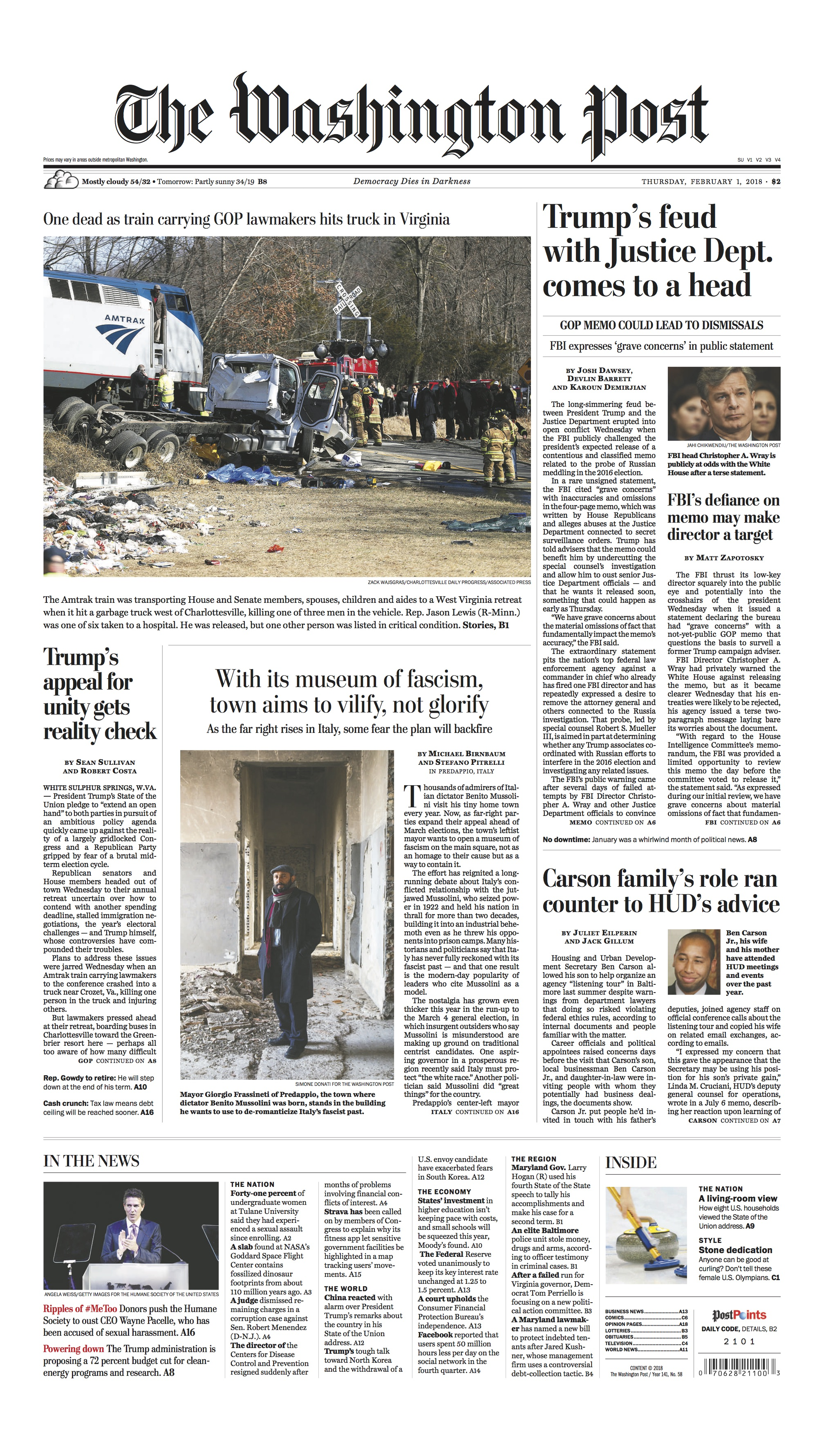 TWP FRONT PAGE - Frassineti